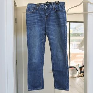 GAP Sexy Boyfriend Jeans Medium Wash
